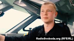 Володимир Вдовенко, командир військового катеру