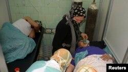Повредени лица од наводно хемискиот напад во Алепо