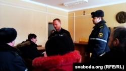 Леанід Аўтухоў у залі суду