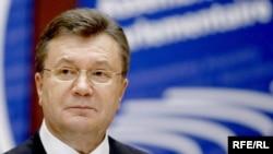 Президент Віктор Янукович у Страсбурзі, 27 квітня 2010 року