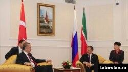 Посетата на Турскиот премиер Реџеп Таип Ердоган на Татарстан