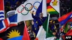 Падчас цырымоніі закрыцьця Алімпійскіх гульняў