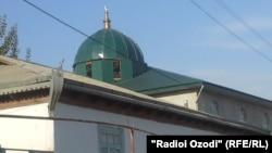 Одна из мечетей в Таджикистане.