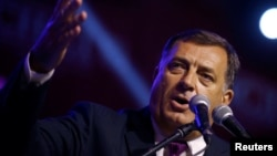 """I am proud of the people of Republika Srpska, of all those who came out and voted,"" President Milorad Dodik, president of Republika Srpska, said after the vote."