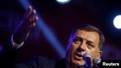 Президент Республики Сербской в составе Боснии и Герцеговины Милорад Додик.