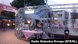 Фестивал на вино и сирење во Охрид.