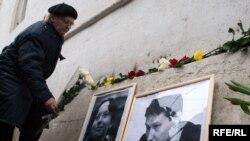 Адвоката Станислава Маркелова и журналистку Анастасию Бабурову убили 19 января 2009 года. На фото: место их гибели.