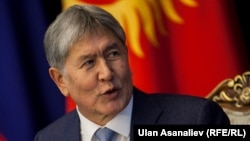 Алмазбек Атамбаев. Бішкек, 28 ақпан 2017 жыл.