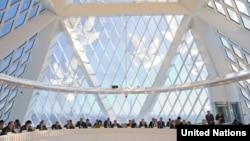Заседание во Дворце мира и согласия в Астане. Иллюстративное фото.