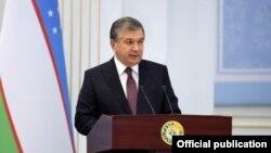 Президент Узбекистана Шавкат Мирзиеев. Фото информагентства УзА.