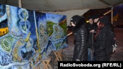 Виставка «Ніч пам'яті» присвячена річниці Майдану