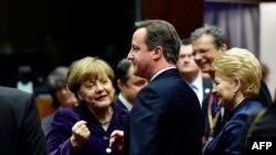 Liderët e vendeve anëtare të BE-së pak para fillimit të mbledhjes në Bruksel