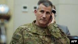 جنرال جان نیکولسن قوماندان ارشد نیرو های امریکایی و ناتو در افغانستان