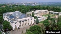 Будівля Верховної Ради України і Маріїнський палац