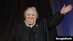 Орусиянын эмгек сиңирген артисти Наталья Крачковская.