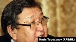 Оппозициялық белсенді Серік Сапарғали. Алматы, 9 қаңтар 2012 жыл.