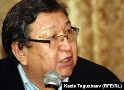 Оппозиционный политик Серик Сапаргали. Алматы, 9 января 2012 года.