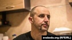 Один из вышедших на свободу белорусских активистов Алесь Евдахо.