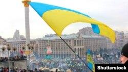 Мітинг у Києві на майдані Незалежності, 26 лютого 2014 року