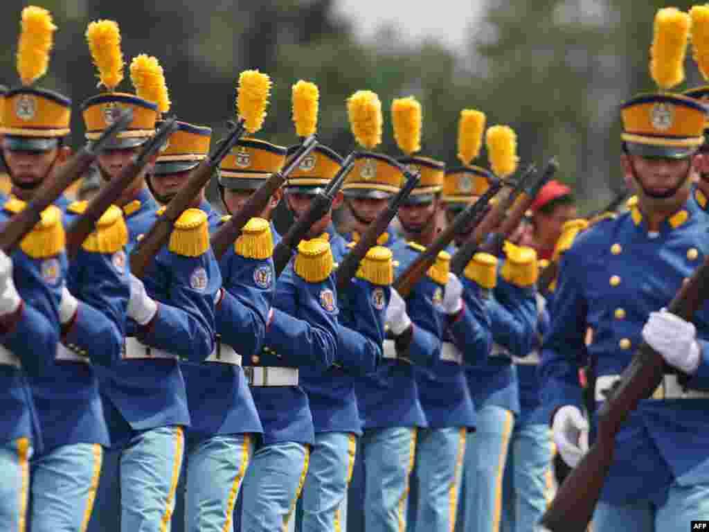 Honduras -Kadeti - Kadeti vojne škole u Tegucigalpi, obilježili su ¨Dan vojske Hondurasa¨.
