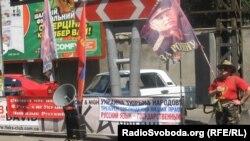 На одной из акций протеста в Одессе. 9 июля 2012 года.