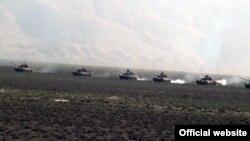 Учения ВС Азербайджана вблизи линии соприкосновения с Карабахом (архив)