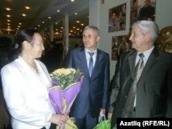 Әлфия Ситдыйкова, Илдар Миңгәрәев (уртада) Рәзин Нуруллин