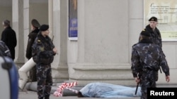 Belarus resmileriň aýtmagyna görä, 11-nji aprelde bolan partlamada 12 adam ölüpdir, 150-den gowrak adam ýaralanypdyr we olaryň 22-si juda agyr ýagdaýda.