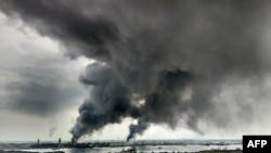 """Кырсык өлкөнүн түндүк-чыгышындагы Веракрус штатындагы """"Пемекс"""" мамлекеттик мунай компаниясына караштуу объектте болду."""