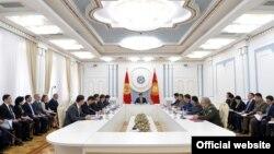 Заседание Совета безопасности КР, 21 марта 2020 г.