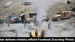 آرشیف، نیروهای افغان در حال اجرای عملیات نظامی در یکی از ولایات افغانستان