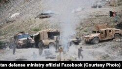 د افغان ځواکونو عملیات.