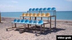 Пляж у Крыме