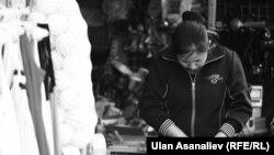 Девушка из Кыргызстана в России