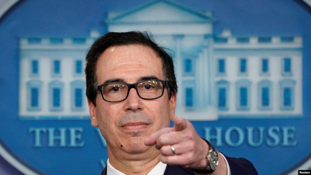 U.S. Treasury Secretary Steven Mnuchin (file photo)