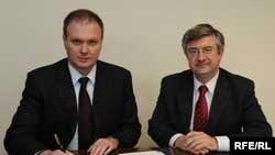 Підписання угоди, Брюссель,6 жовтня 2008 р.
