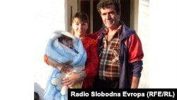 Виолета Пренди и Љупчо Амбуковски од битолското село Крклино.