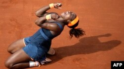 Tenistja amerikane, Serena Williams (Ilustrim)