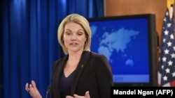 U.S. State Department Spokesperson Heather Nauert. File photo