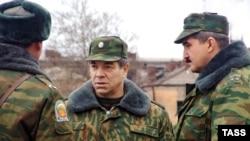 Российские командующие в Очамчире, Абхазия, 2005 г