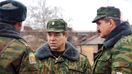 "Major General Sergei Kuzovlev (right) goes by the pseudonyms ""Tambov"" and Ignatov,"" according to Ukraine's SBU."
