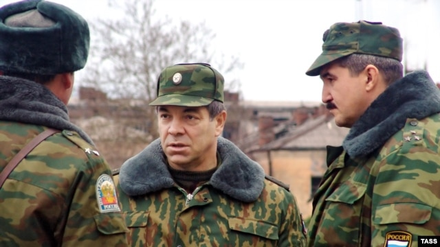 "Major General Sergei Kuzovlyov (right) goes by the pseudonyms ""Tambov"" and Ignatov,"" according to Ukraine's SBU."