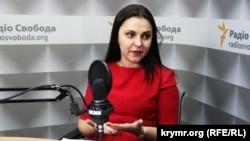 Глава украинского Центра информации о правах человека Татьяна Печончик