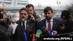 Уладзіслаў Дайнега і Дзяніс Пушылін