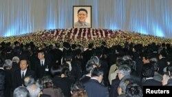 Komemoracija lideru Sjeverne Koreje, Kim Jong-ilu 2011.