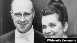 Мстислав Ростропович и Галина Вишневская, 1965