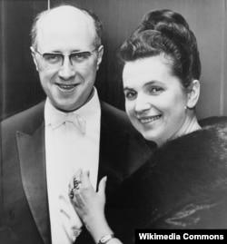 Мстислав Ростропович и Галина Вишневская, 1965. Фото Стэнли Вольфсона
