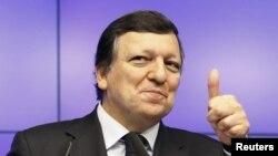 Европа Комиссияси президенти Хосе Мануэл Баррозо.