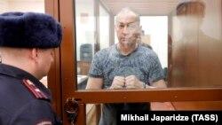 Александр Шестун в суде, февраль 2019 года
