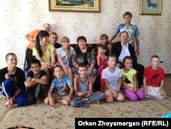 Семья Акимбаевых.